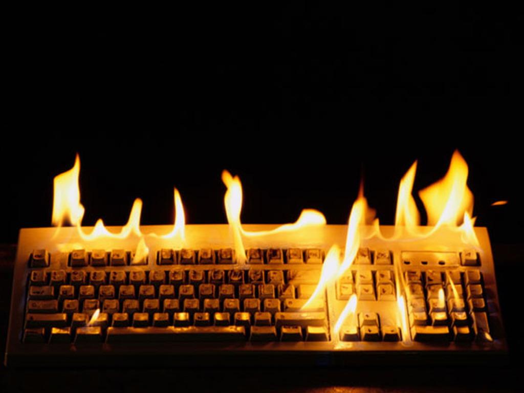 Computador com aquecimento