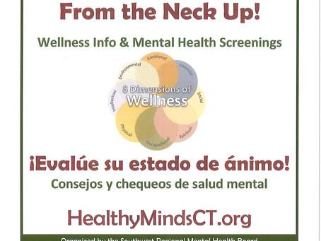 Free Mental Wellness Screenings in October
