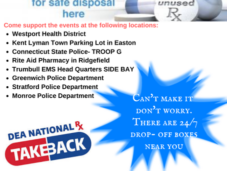 National Prescription Take Back Day October 26, 2019