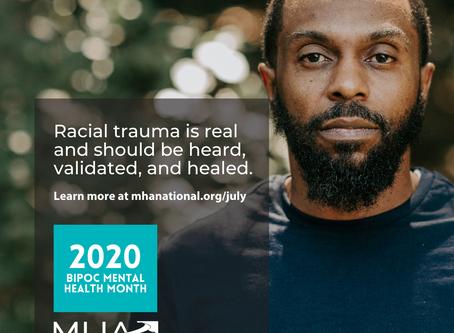"""Minority"" Mental Health Month Matters"