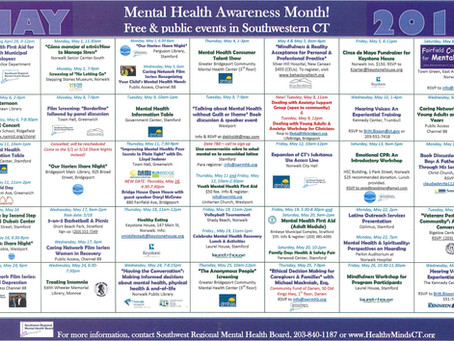Personality Disorders: Mental Health Month, week 2 - events & videos