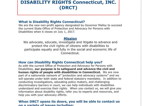Announcing CT's new office for protection & advocacy