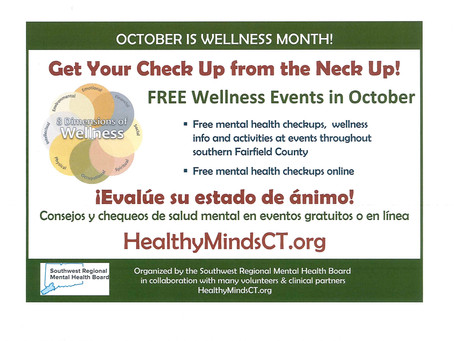 """Get Your Check Up from the Neck Up during """"Wellness Month"""""""