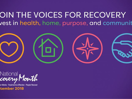 Recovery Month Reflections