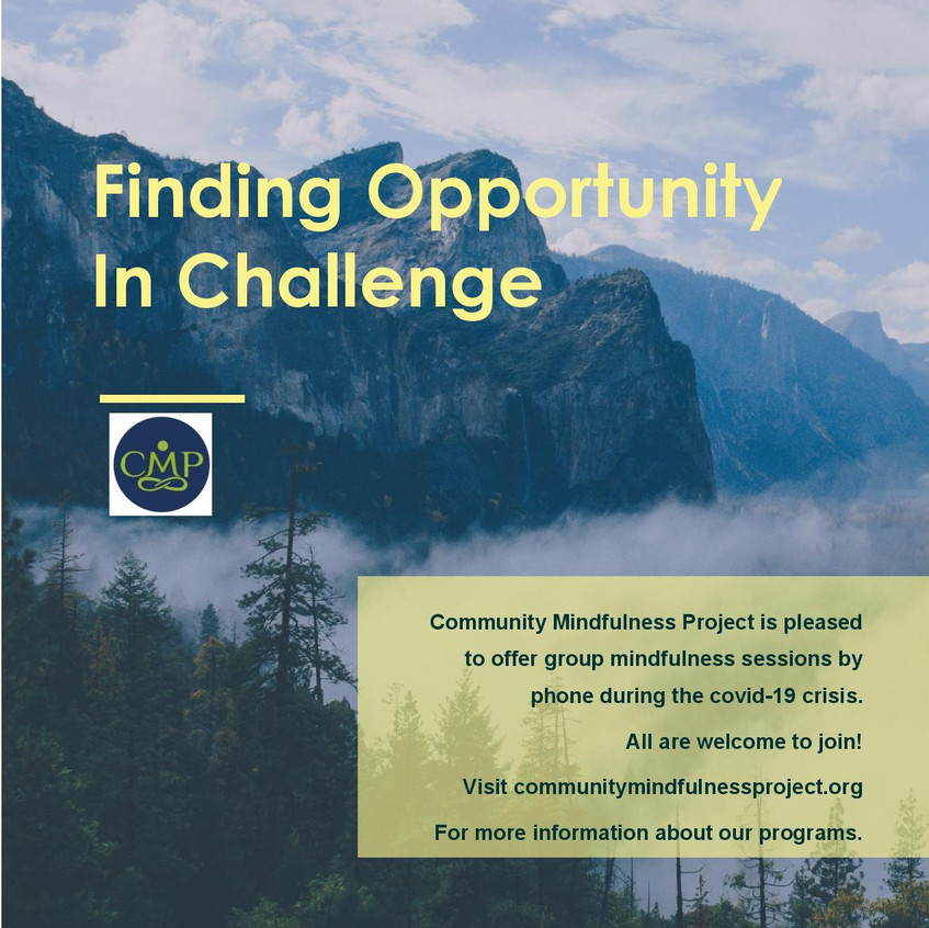 community mindfulness project covid flye
