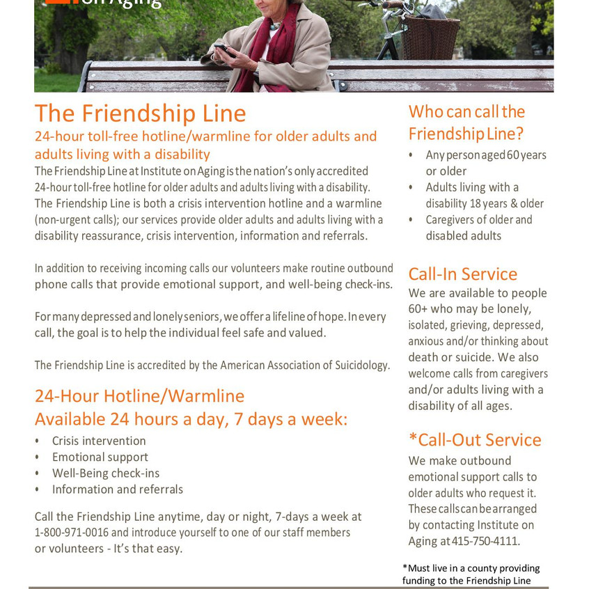 Friendship Line Client Flyer updated-pag
