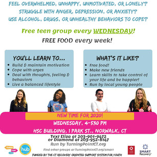 Norwalk SMART Recovery teen groupgroup
