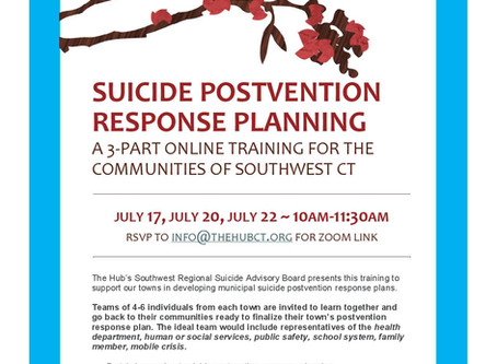 Upcoming Behavioral Health Events, July 10- July 24