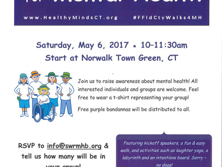 Fairfield County Walks for Mental Health!