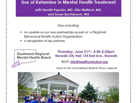 Use of Ketamine in Mental Health Treatment