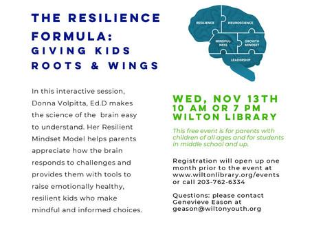 Behavioral health events Nov 11-21