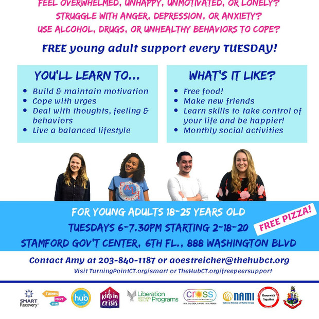 Stamford SMART Recovery young adult group