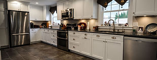 Shaker Style Kitchen in White