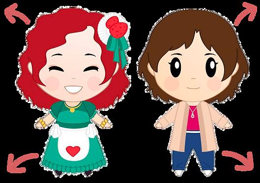 Alyciane et Aurélie