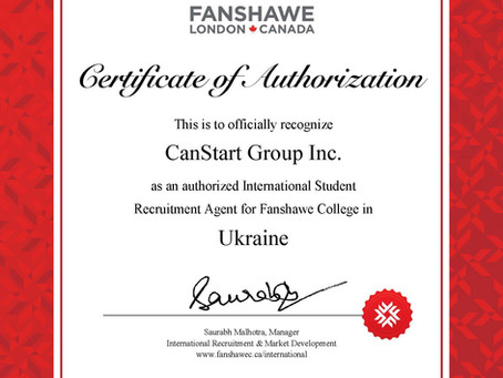 Partnership with Fanshawe College!