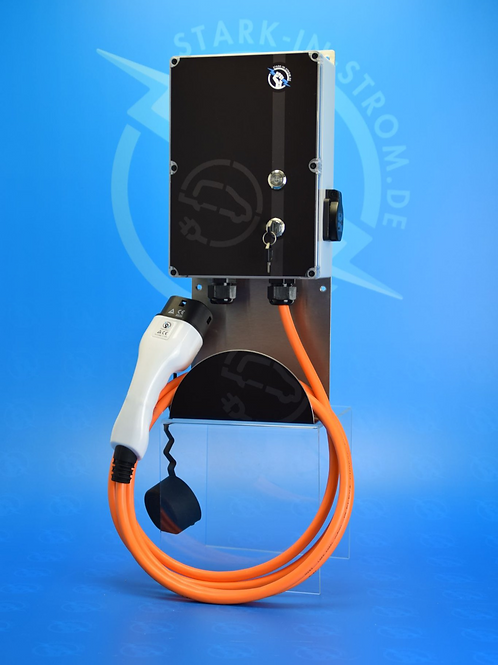 Wallbox 11 KW / EASY PLUS / 3-Phasig / Typ 2 Kabel / AC/DC Fehlerstromschutz
