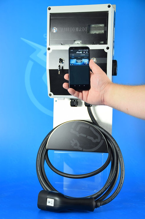 Wallbox 22 KW PRO CONNECT-KFW Ready/ Ladestrom Regelbar /Smarte Steuerung