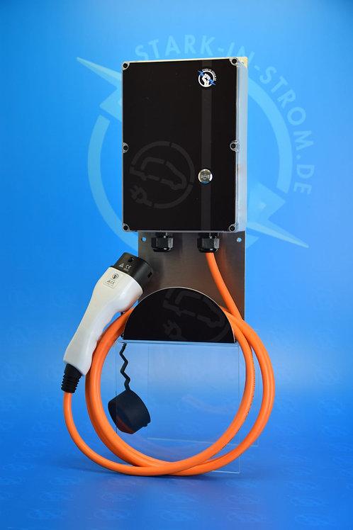 Wallbox 11 KW / EASY / 3-Phasig / Typ 2 Kabel / FI Typ B -Allstrom