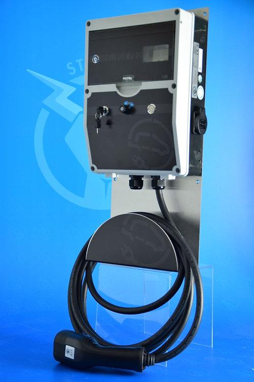 Wallbox 11 KW PRO-KFW Ready/ Ladestrom Regelbar /AC u. DC Fehlerstromschutz
