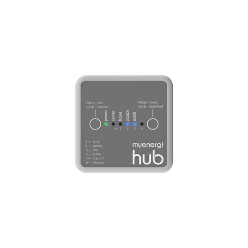 Hub und app -Fernsteuerung und Überwachung Ihrer myenergi-Geräte