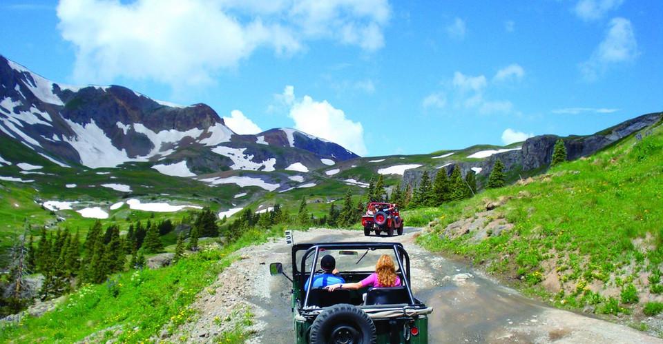 Alpine Loop Trail at Lake City
