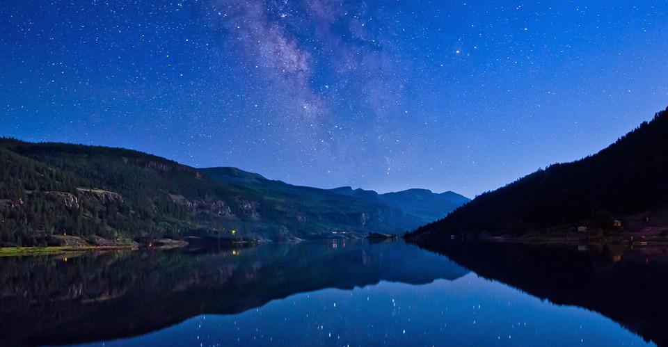 Lake City at Night