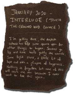 #13 - JANUARY 2020 - INTERLUDE (TOUCH THE GROUND AND BOUNCE)