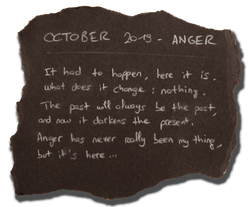 #7 - OCTOBER 2019 - ANGER