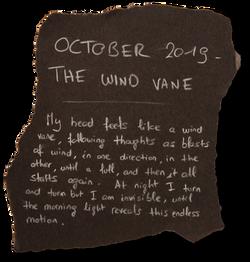 #5 - OCTOBER 2019 - THE WIND VANE
