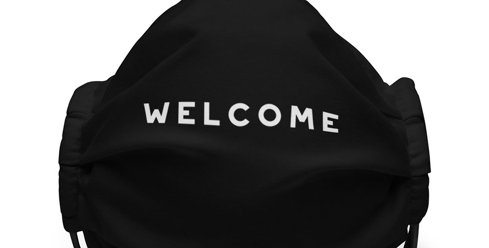 Welcome. face mask