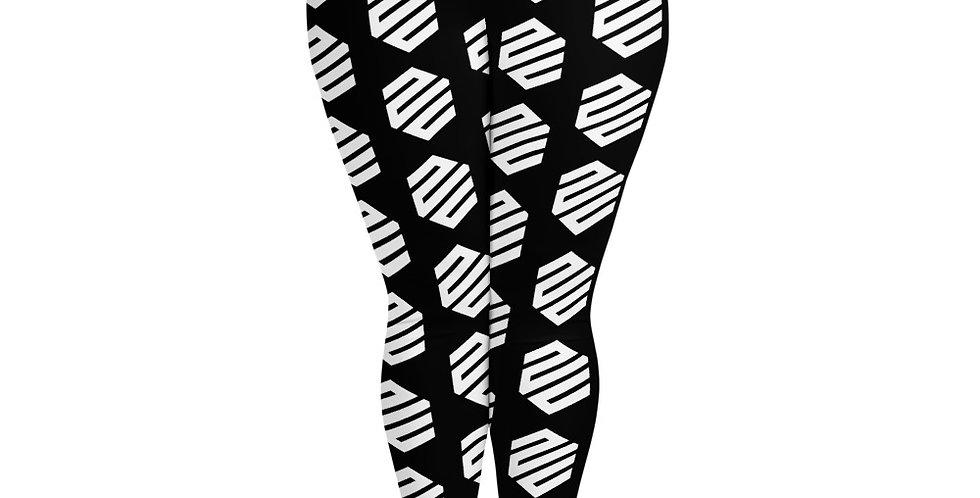 Hex. All-Over Print Plus Size Leggings