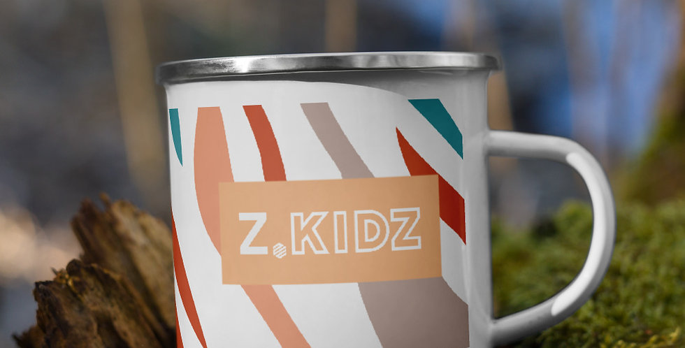 Z.Kidz Enamel Mug