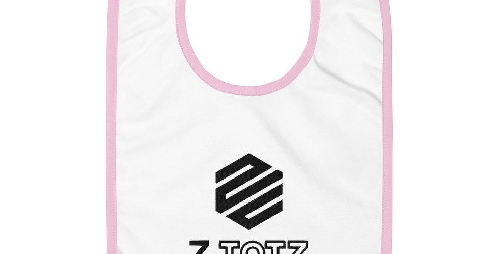 Z.TOTZ Embroidered Baby Bib