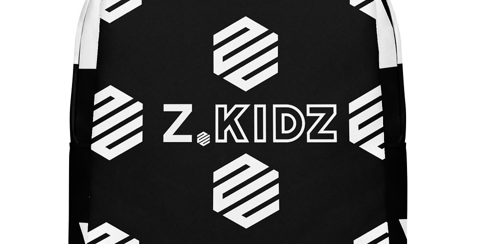 Z.KIDZ Hex Pattern Bookbag