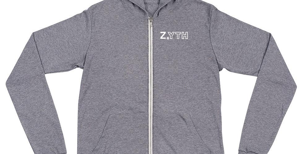 Z.YTH Unisex zip hoodie