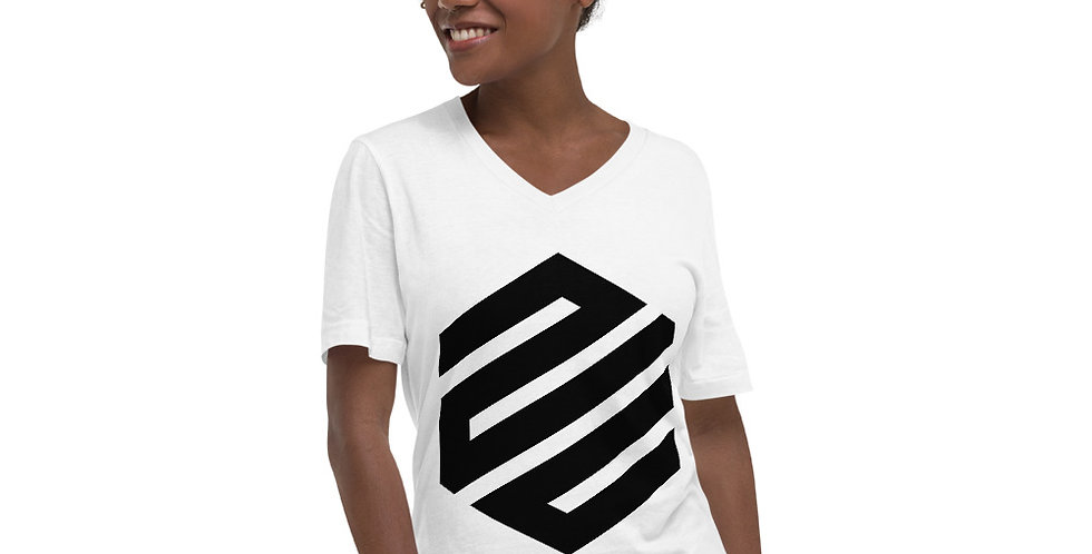Hex. Unisex Short Sleeve V-Neck T-Shirt
