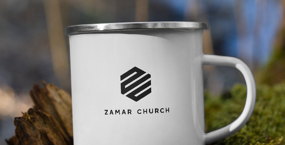 Z.Church Enamel Mug