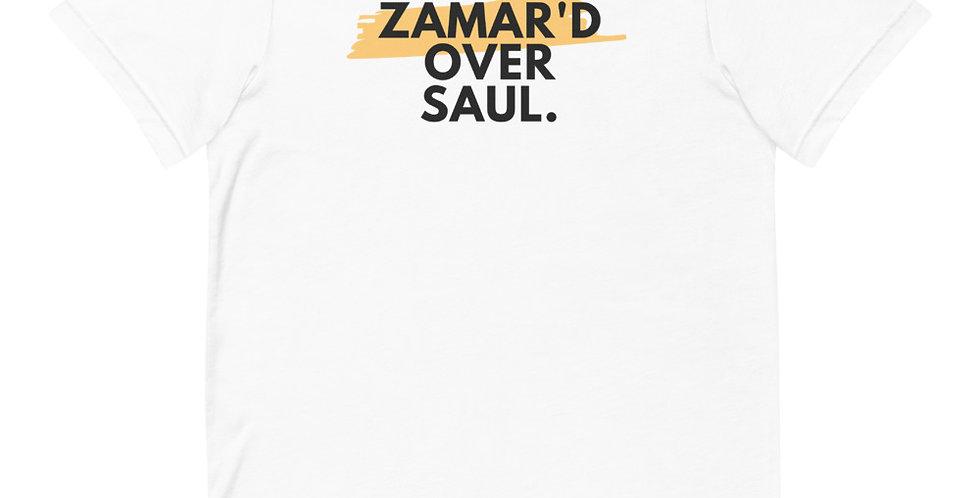 David Zamar'd Over Saul Short-Sleeve Unisex T-Shirt