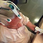 Guy wearing SynPhNe Head Gear.JPG