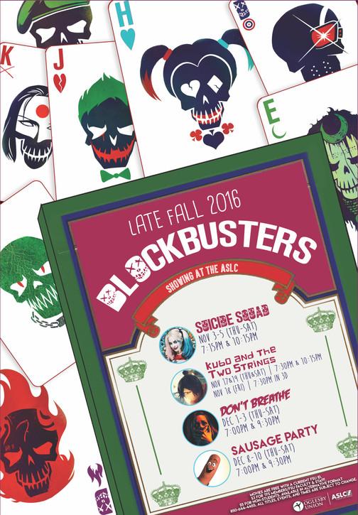 ASLC Late Fall 2016 Blockbusters