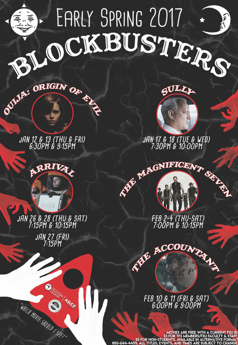 ASLC Early Spring 2017 Blockbusters