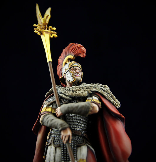 "Roman  Aquilifer from Legion XI ""Claudia Pia Fidelis"""