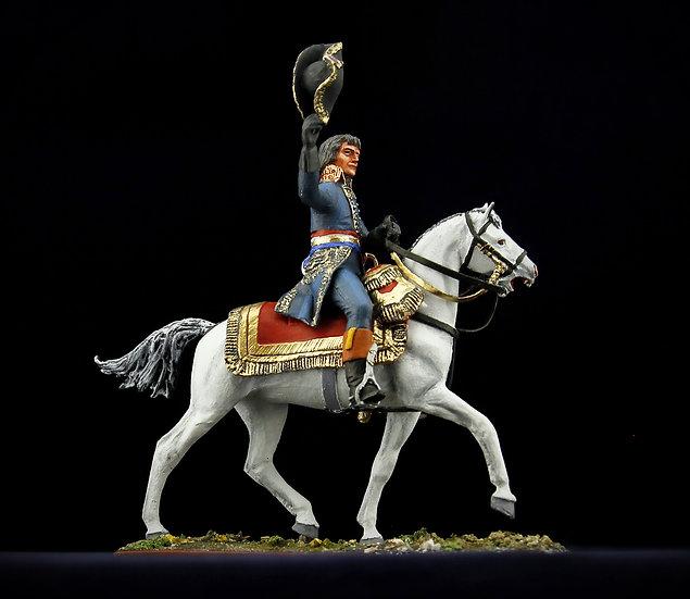 General Bonaparte on horseback