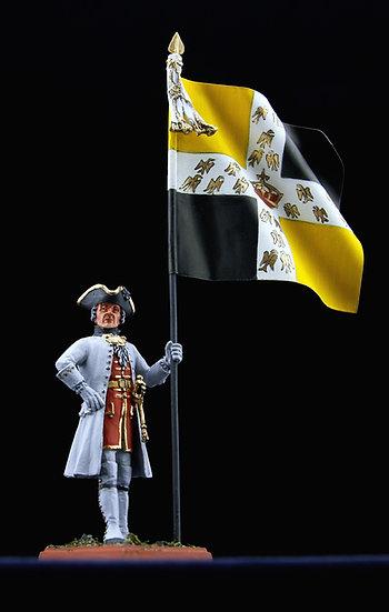 Lorraine regiment standard bearer