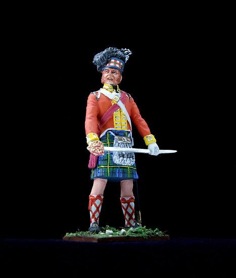 Gordon Highlanders officer