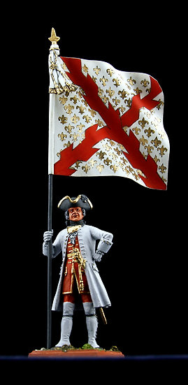 Bourgogne regiment standard bearer
