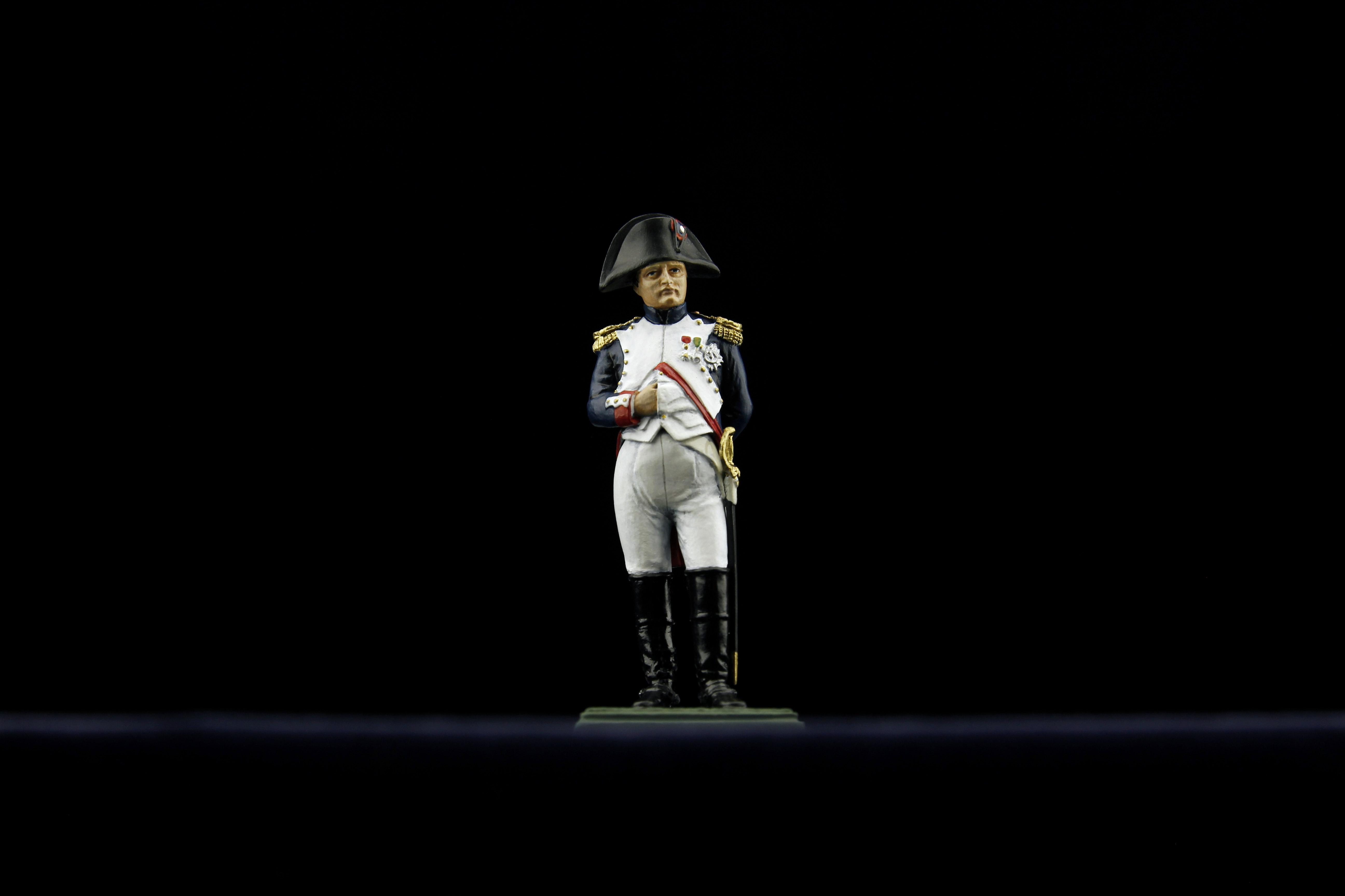 Napoleon vers. blanc face