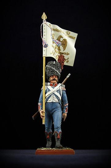 4th regiment of reserve grenadiers standard bearer