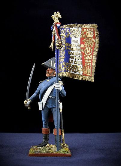 Imperial guard (1815) standard bearer