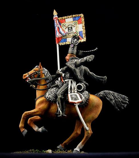 Death hussars standard bearer